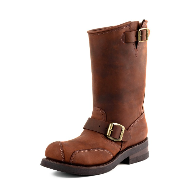 Mayura biker boots Model 1592-6 in Crazy Old Arabia