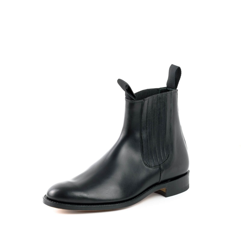 El Estribo boots Model 1692-1 in Box Negro