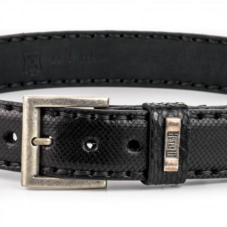 Cinturón Pyton Black