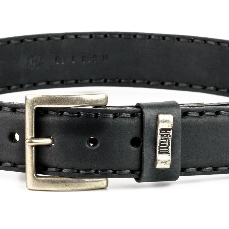 Mayura Belt in Vacuno Black