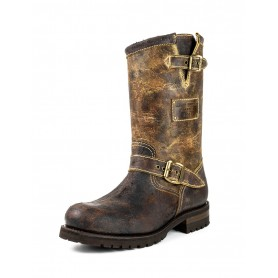 Modelo 18 Engineer Boots Vintage - Piso militar