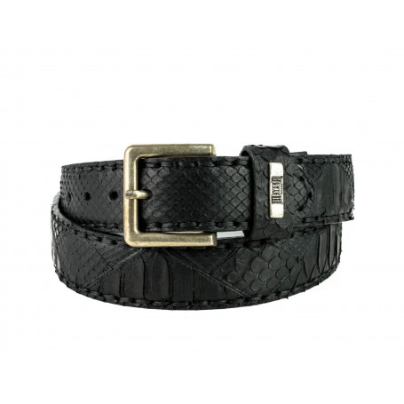 Belt in Black Python