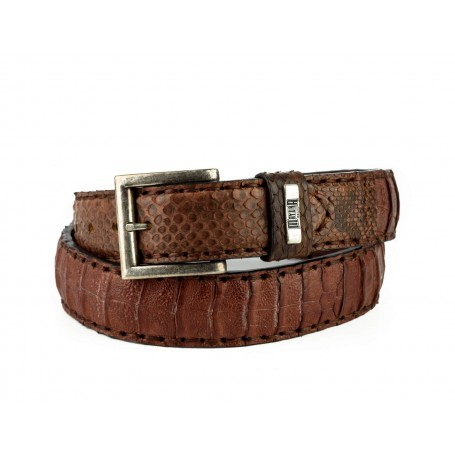 Belt in Crocodile / Python Camel