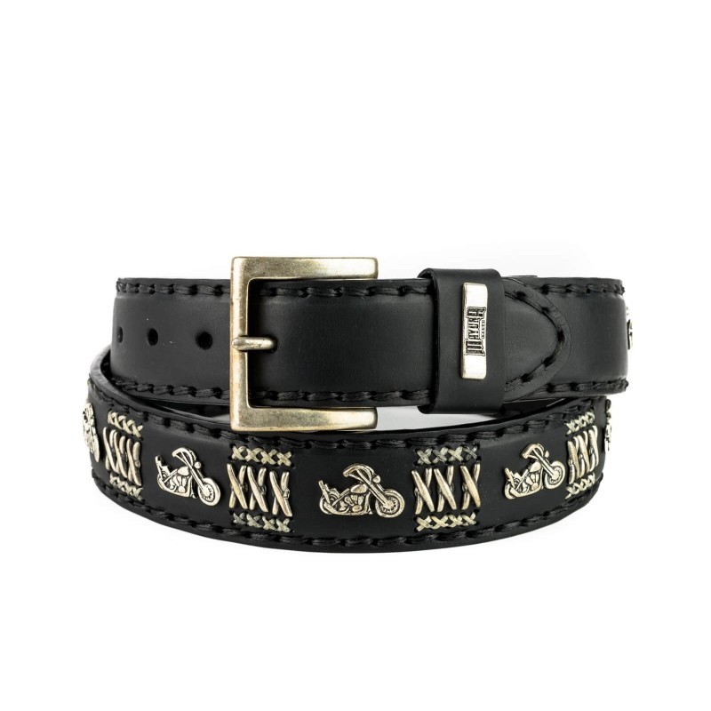 Belt in Vacuno Black