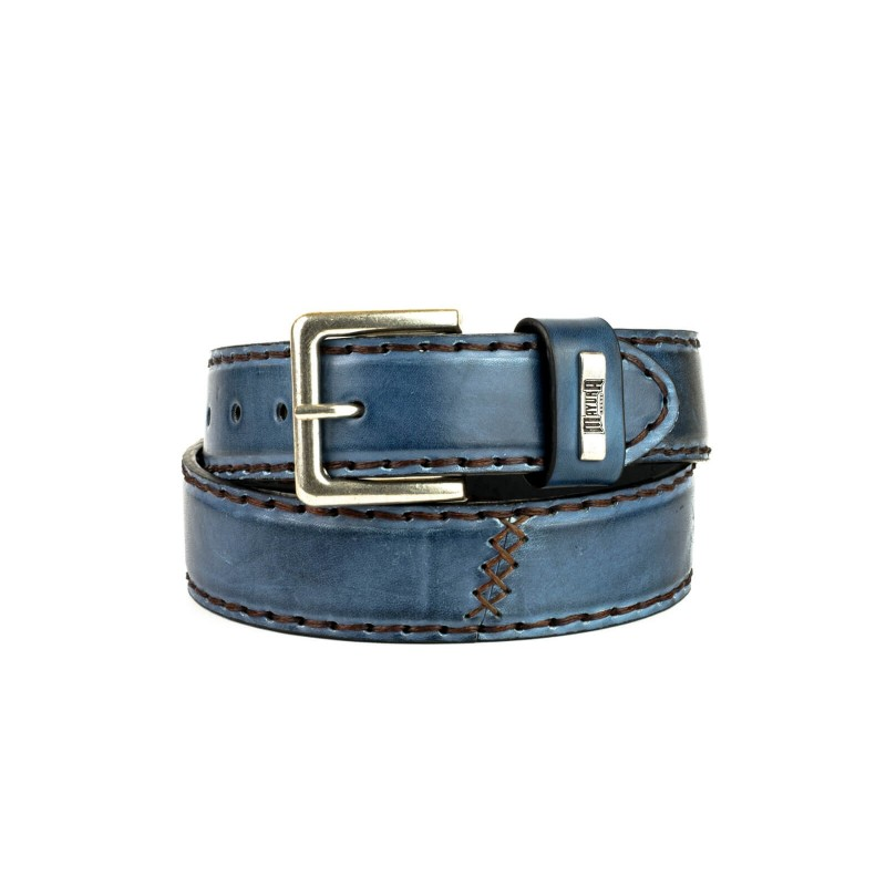 Gürtel M-925 Azul Jeans