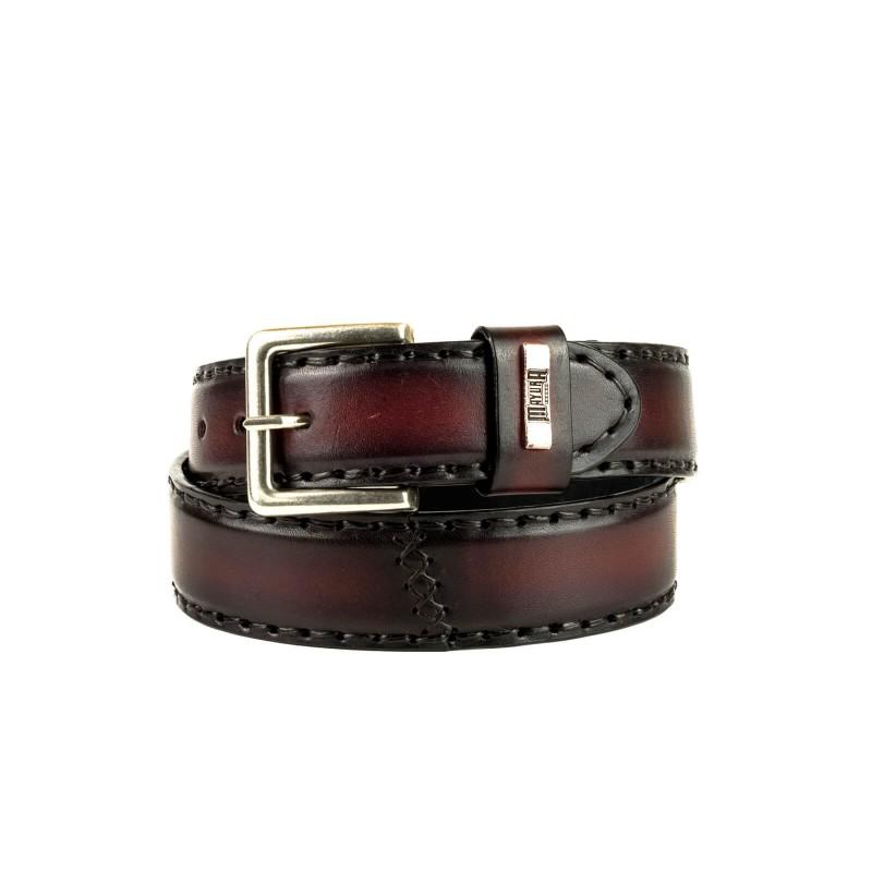 Cinturón M-925 Burdeos-Negro