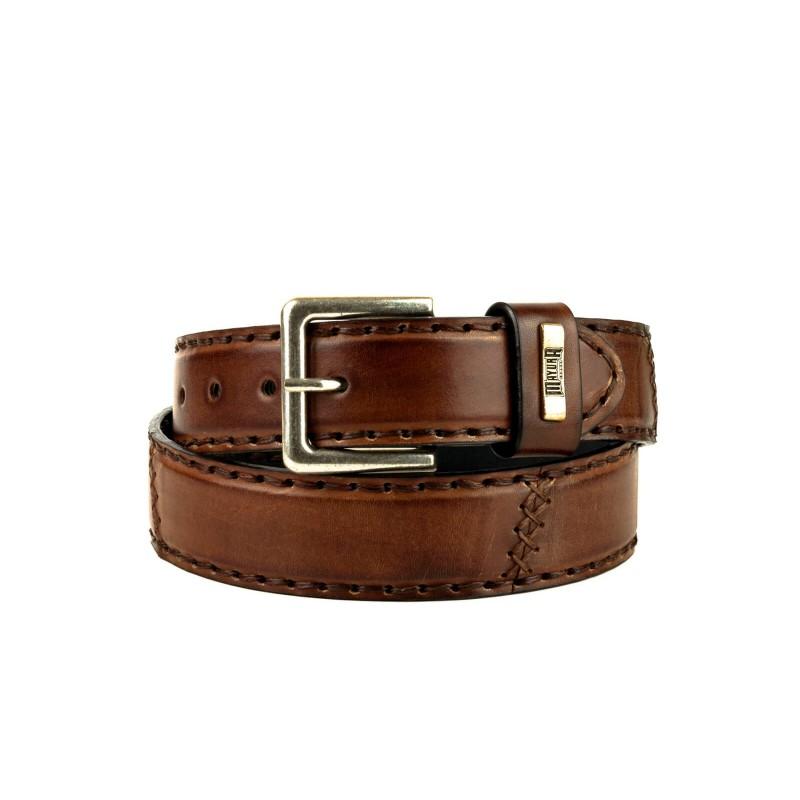Belt M-925 Cognac
