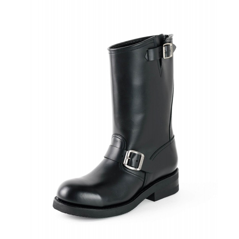Mayura biker boots Model 1590-6 in Pull Oil Negro