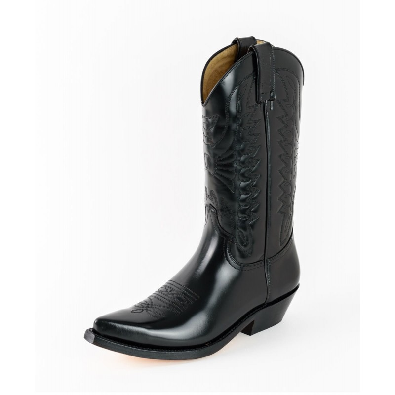 Mayura cowboy boots Model 1920-C in Florentic Negro