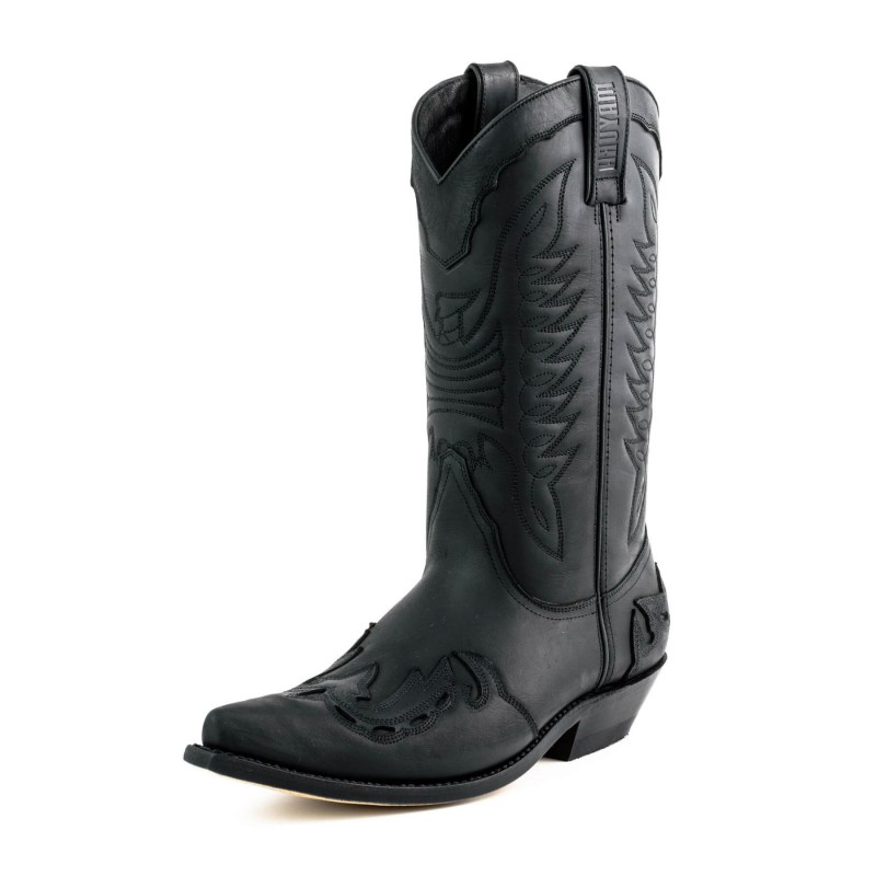 Mayura cowboy boots Model 17 in Crazy Old Negro